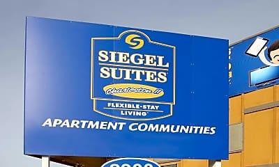 Community Signage, Siegel Suites Charleston II, 2