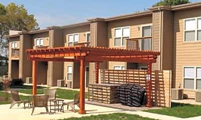 Patio / Deck, 1200 Walnut Apartments, 1
