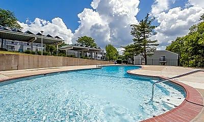 Pool, Schoettler Village Apartments, 0