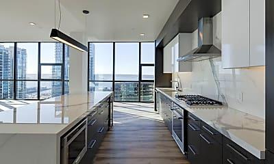 Kitchen, Luma Apartments, 1