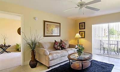 Living Room, Villas At Palm Bay, 1