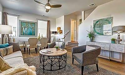 Living Room, Enclave Vista Ridge, 1