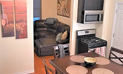 Living Room, 1629 S Throop St 3R, 2
