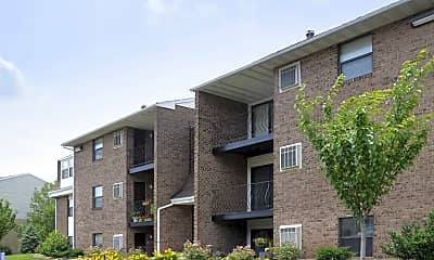 Building, Greenspring Apartments, 1