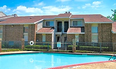 Pool, Riverbend Apartments, 2