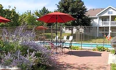 Pool, Windsong Country Estate Apartments, 1