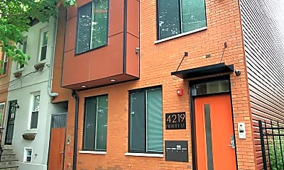 Building, 4219 Filbert St, 2