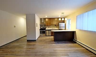 Kitchen, YG Flats, 1