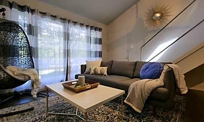 Living Room, 5002 Junius St, 1