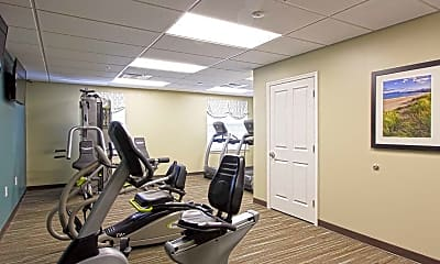 Fitness Weight Room, Bladensburg Commons, 1