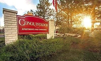 Community Signage, Conquistador Apartments & Townhomes, 0
