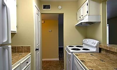 Kitchen, Alameda Apartments, 1