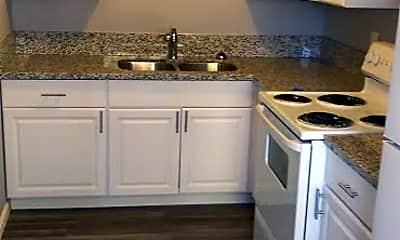 Kitchen, Redwoods Apartments, 1