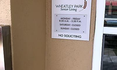 Wheatley Neighborhood Redevelopment, 1