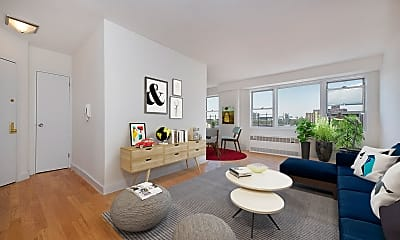 Living Room, 60 W 142nd St 11-M, 1