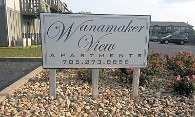 Wanamaker View Apartments, 1