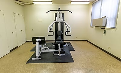 Fitness Weight Room, 3100 S King Dr 104, 2