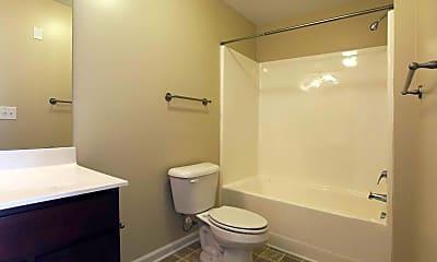 Bathroom, Granite Falls Apartments, 2