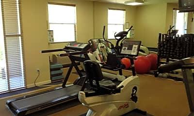 Fitness Weight Room, Village At Willow Glen Senior Community, 1