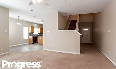 Living Room, 815 Forest Thicket Ln, 1
