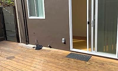 Patio / Deck, 646 N La Fayette Park Place, 2