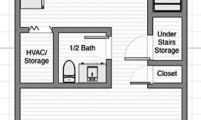 Bathroom, 20 W Perry St, 2