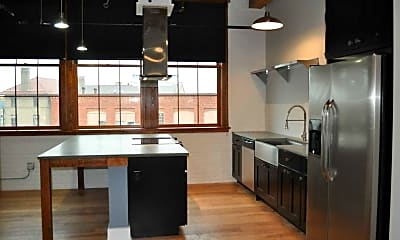 Kitchen, The Button Lofts, 2