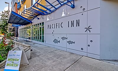 Community Signage, The Pacific Inn Apartments, 2
