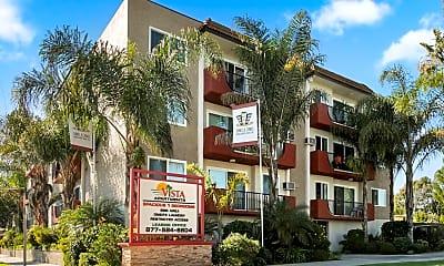 Community Signage, Vista Apartments, 0