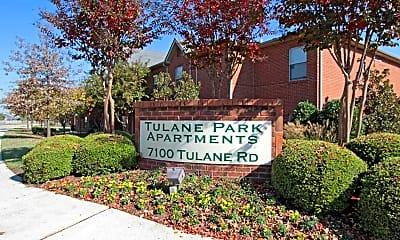 Community Signage, Tulane Park, 2