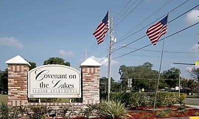 Community Signage, Covenant On The Lakes- Senior Housing, 2