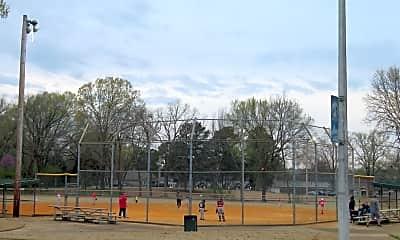 Playground, Center Court Apartments, 2