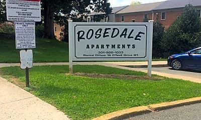 Rosedale Apartments, 1