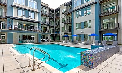 Pool, Encore 4505 at Town Center Apartments, 1