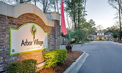 Community Signage, Arbor Village, 2