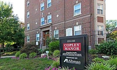 Community Signage, Copley Manor Apartments, 2