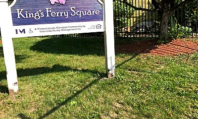 Kings Ferry Square Apartments, 1