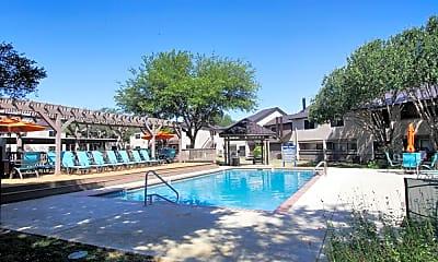 Pool, Lake Creek Apartments, 0
