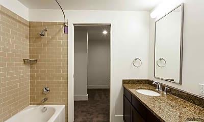 Bathroom, Masonic Hall Apartments, 2