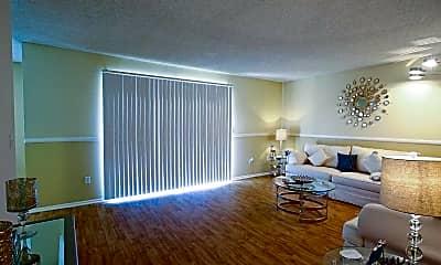 Living Room, Villa Del Sol Apartments, 1