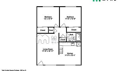 Bedroom, 481 Auburn Way, 2