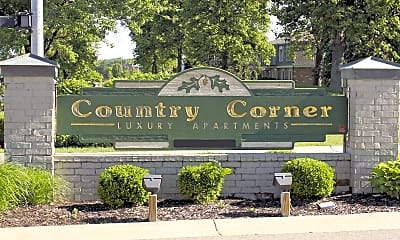 Community Signage, Corner Place Apartments, 2
