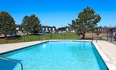 Pool, Riverside Village, 1