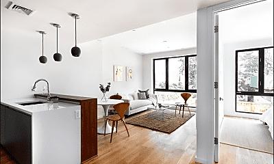 Living Room, 221 Devoe St 2-B, 1
