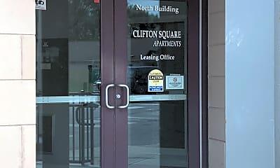 Clifton Square Apartments, 1