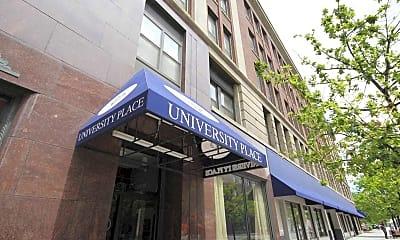 Building, University Place Apartments, 0