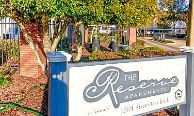 Community Signage, Reserve of Jackson, 2