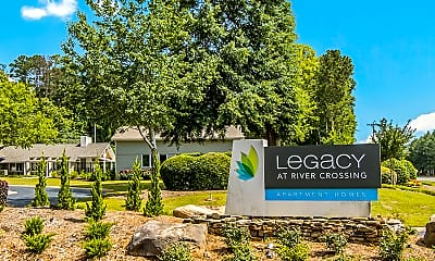 Community Signage, Legacy At River Crossing, 0