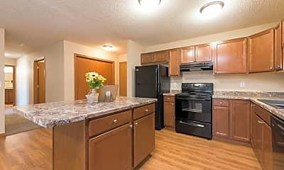 Kitchen, Sunset Ridge Apartments & Townhomes, 1