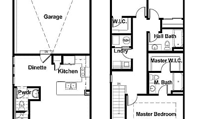 Bathroom, 4520 NE Milligan Ln, 2